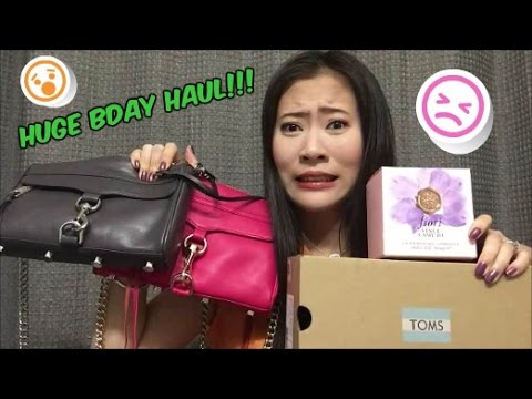 Huge Birthday Collective Haul | Rebecca Minkoff, Toms, Vince Camuto, Zoya, OPI And More!