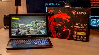 The MSI GE62VR 6RF Apache Pro (GTX1060) Unboxing by Tanel