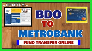 BDO Send Money to Metrobank: How to Fund Transfer Online via Instapay