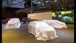 Conférence de presse Renault - Salon de l'automobile de Genève 2018