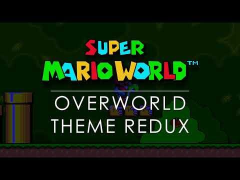 Super Mario World Overworld Theme Mashup REDUX (8 Themes)