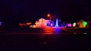 2012 Christmas Lights - Do You Hear What I Hear