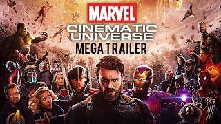 The MCU Movie Mega Trailer | Chronological Order - March 2018 Version | 60FPS