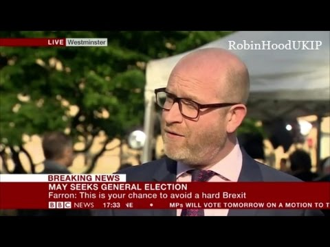 Paul Nuttall says this General Election is on UKIP turf