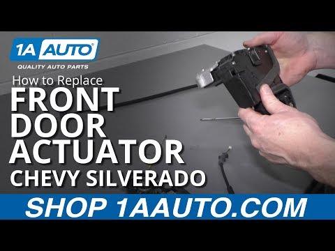 How to Replace Front Door Actuator 14-19 Chevy Silverado