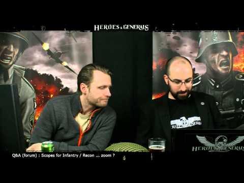 Heroes & Generals Devstream #26: Live from Copenhagen