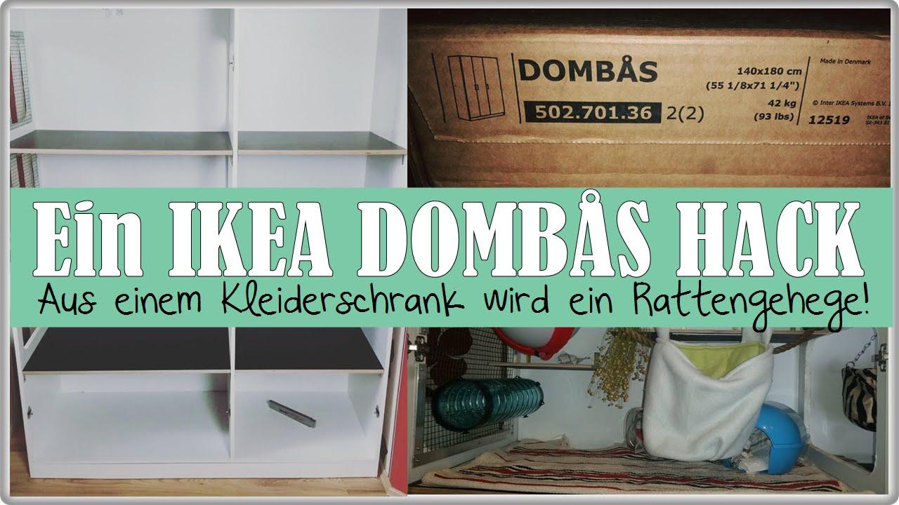 ikea domb s hack aus einem kleiderschrank wird ein rattengehege bauanleitung youtube. Black Bedroom Furniture Sets. Home Design Ideas