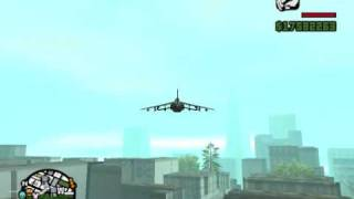 GTA San Andreas:How to fly with Hydra + some easy tricks!