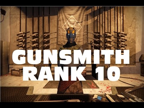 Destiny - Gunsmith - Rank 10