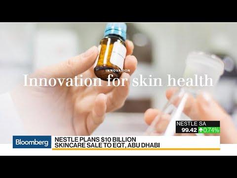 Nestle Plans $10 Billion Skincare Business Sale to EQT Partners