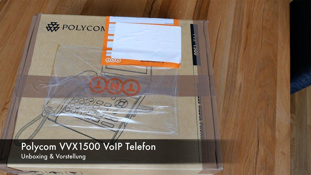 Vorstellung & Unboxing des Polycom VVX1500