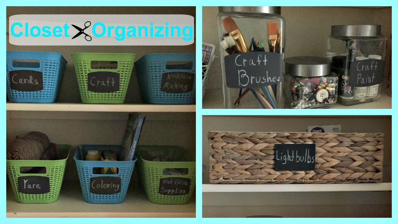 Organizing The Hall Closet Organization