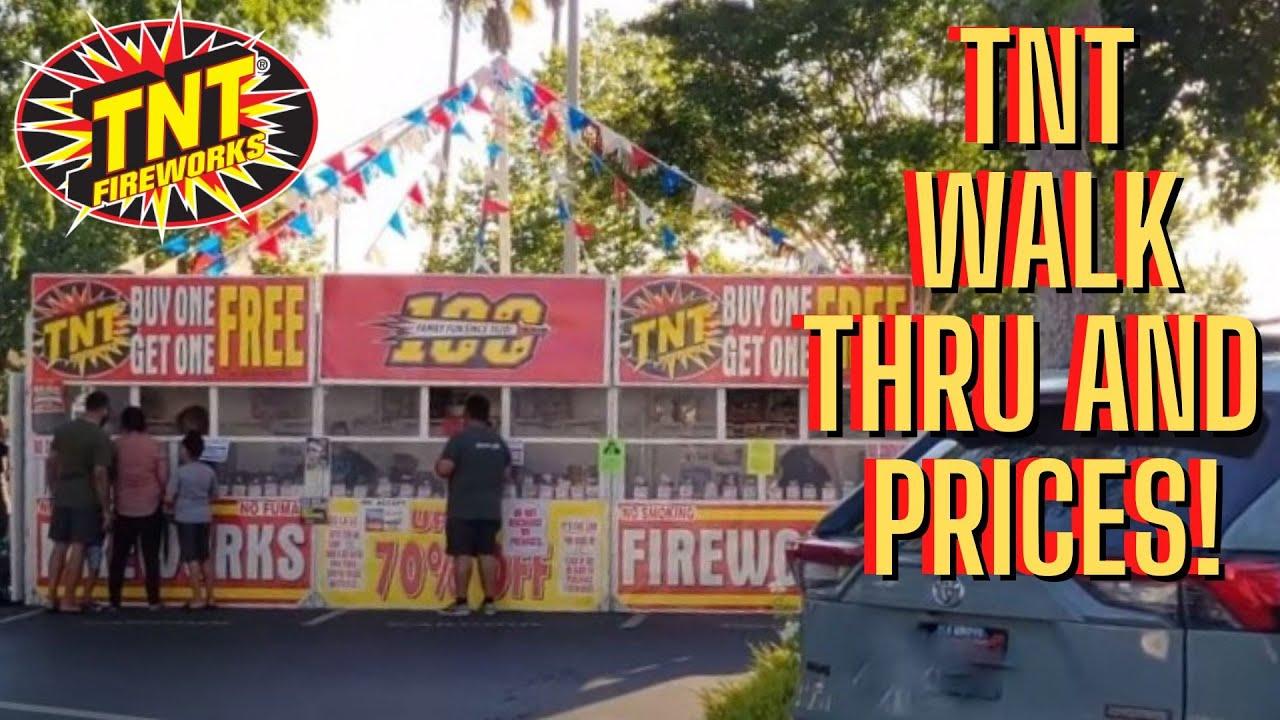 TNT Fireworks Booth 2021 Showcase - California