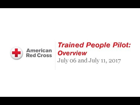 Readiness Initiative – Trained People Pilot – Overview (July, 2017)