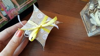 Little gift box DIY. Cute and easy paper craft.