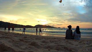 Закат на пляже Патонг 2019