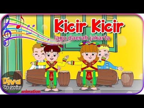 KICIR KICIR   Lagu Daerah Jakarta (Betawi)   Diva Bernyanyi   Diva The Series Official