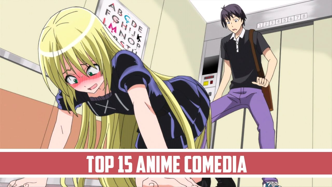 Top 15 Mejores Animes De Comedia (2000-2017)
