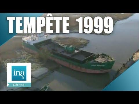 La tempête de 1999 en Charente Maritime - Archive INA