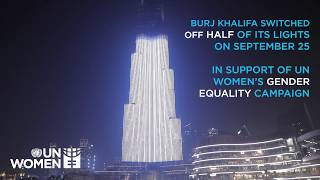 #MorePowerfulTogether Burj Khalifa - Dubai, UAE