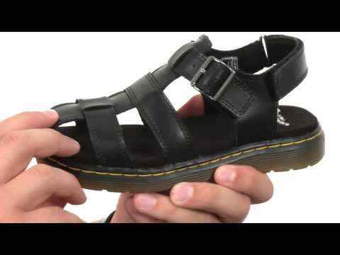 Dr. Martens Kid's Collection Sailor Fisherman Sandal (Little Kid/Big Kid) SKU:8478506