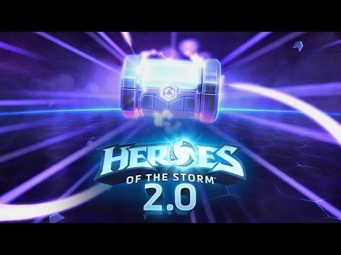 видео: Открытие новых контейнеров в heroes of the storm 2.0