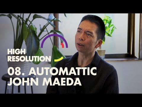 #8: John Maeda on the three types of design, the four quarters of life, and diversity