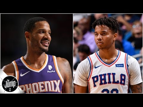 The possible trade that would send Trevor Ariza to Lakers, Markelle Fultz to Suns | The Jump