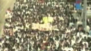 Repeat youtube video 《為自由》 (89年全港聲援六四民運)