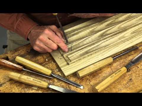 Carving Linenfold Panels