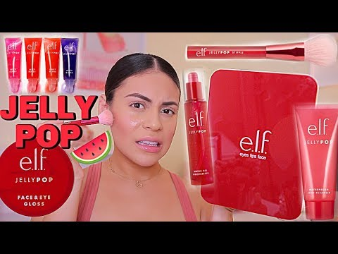 NEW ELF JELLY POP COLLECTION FIRST IMPRESSION + REVIEW… IS IT ANY GOOD?  JuicyJas
