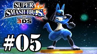 Super Smash Bros for 3DS - Classic Mode #05 - Lucario