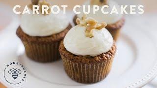 My Family's Carrot Cupcakes Recipe - Honeysuckle