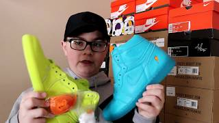 INSANE 14 YEAR OLD SNEAKER COLLECTION!!! CRAZY HEAT!!