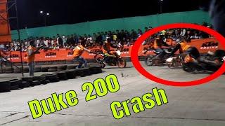 Ktm Duke 200 Crash Compilation    Duke 390 crash...