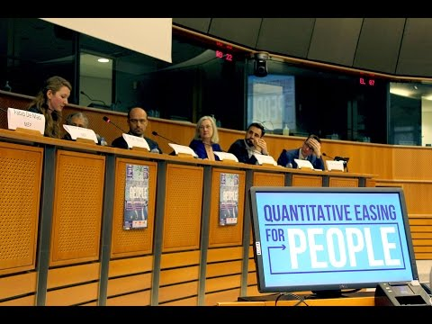 Conference: Quantitative Easing for People in the Eurozone