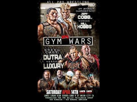 All Pro Wrestling #gymwars 2018 - Union City