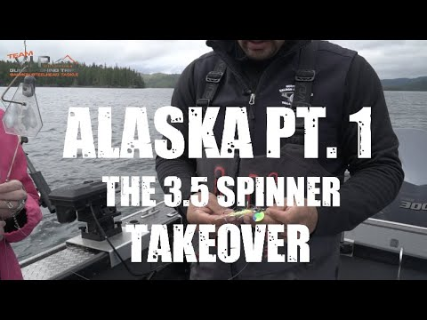 BEST SALMON Fishing In ALASKA! (Part 1) VIP Outdoors Visits The 49th State With The 3.5 SPINNER!