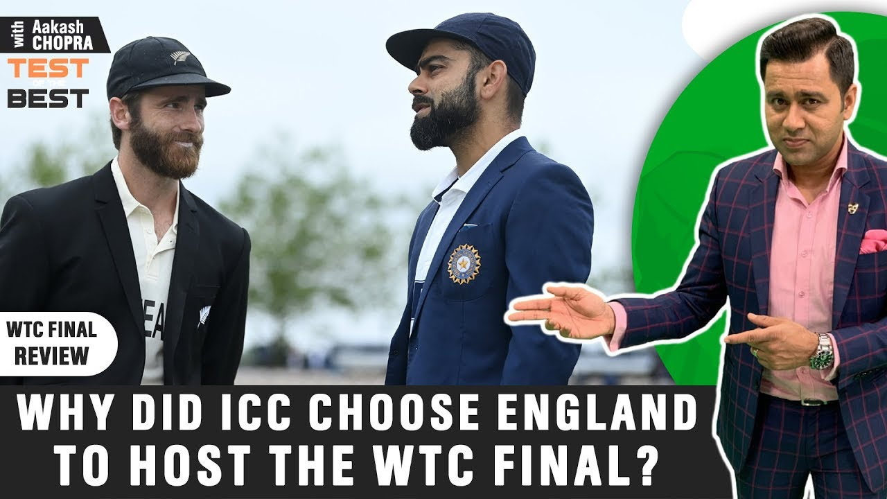WHY ICC Chose ENGLAND to Host the WTC Final | Video Q&A | Betway Test of the Best | Aakash Chopra