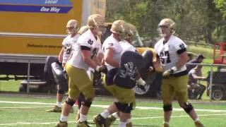 Notre Dame Practice Highlights —Aug. 6