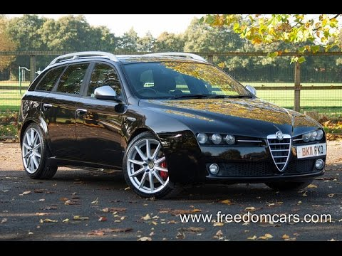 alfa romeo 159 sportwagon 2 0 jtdm 16v ti 5dr sunroof roof rails youtube. Black Bedroom Furniture Sets. Home Design Ideas