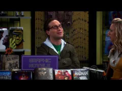 TBBT S02E20 The Hofstadter Isotope (Penny at Comic Book Store)