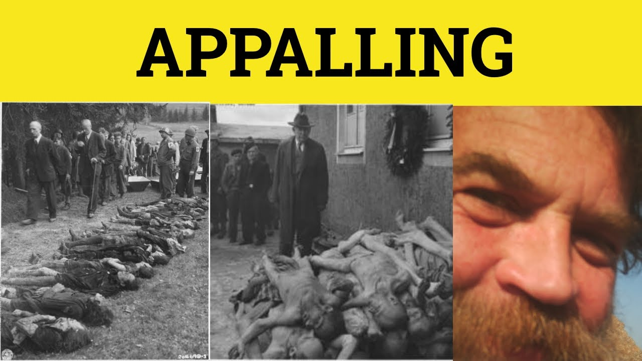 Download 🔵 Appal Appalling Appalled - Appalling Meaning - Appalled Examples - GRE 3500 Vocabulary