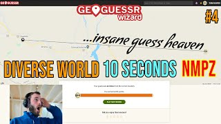 Going for the leaderboard on Geoguessr's hardest format: Insane guess heaven