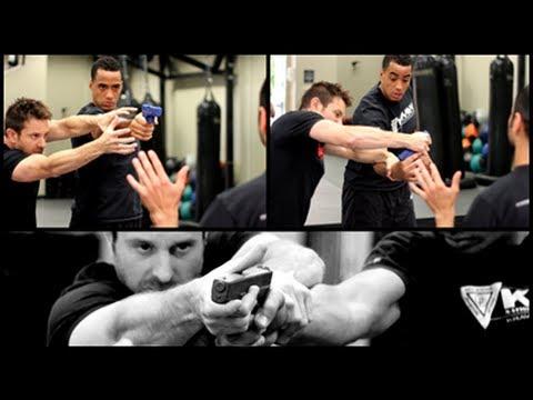 3rd Party Gun Defense - Krav Maga Training - Self Defense w/ AJ Draven of KMW Ep. 29