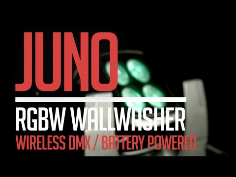 CLF Juno: Battery Powered RGBW Wallwasher