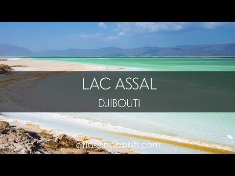 Lac Assal in Djibouti