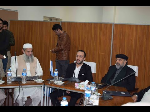 Sayed Ammar Naqshwani while giving a talk at CII on 5th January 2018 - part 1