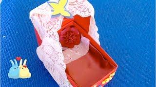 Как сделать мебель для кукол своими руками кровать-трансформер♡ Кровать из картонных коробок легко.(Как сделать кровать-трансформер для кукол своими руками. Кровать из картонных коробок, легко. Мебель для..., 2016-03-28T08:00:01.000Z)