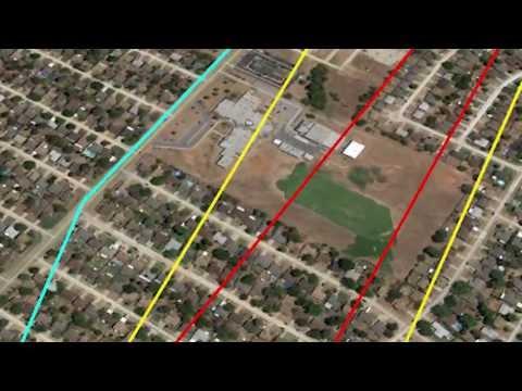 Moore, Oklahoma Tornado Path 3D Flyover Tour